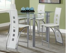 Astro White Pub Table