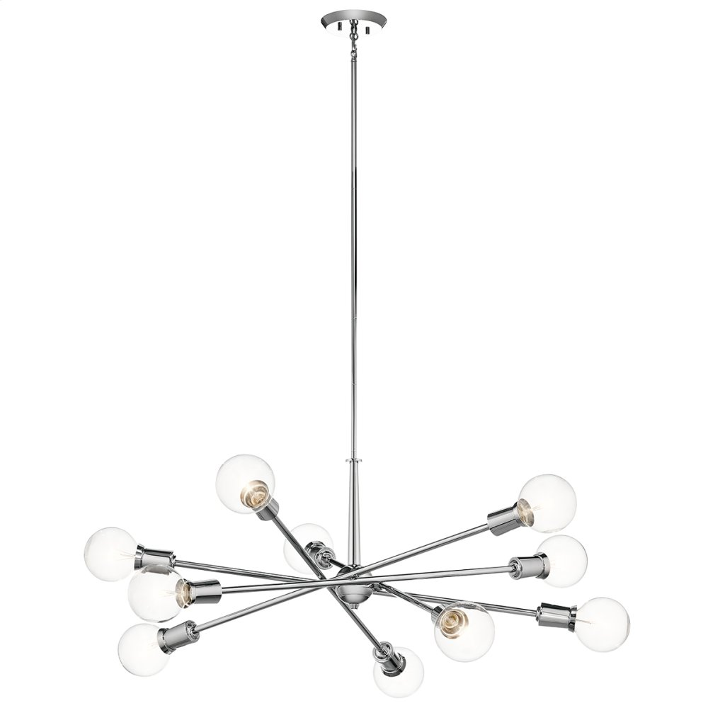 Hidden · Additional Armstrong Collection Armstrong 10 Light Chandelier CH  sc 1 st  Gartners Gallery & 43119CH in Chrome by Kichler Lighting in Hancock MI - Armstrong ...