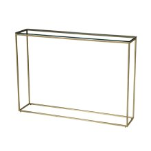 Misty Rectangular Console Table