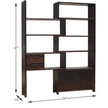 Expanding Display Shelf