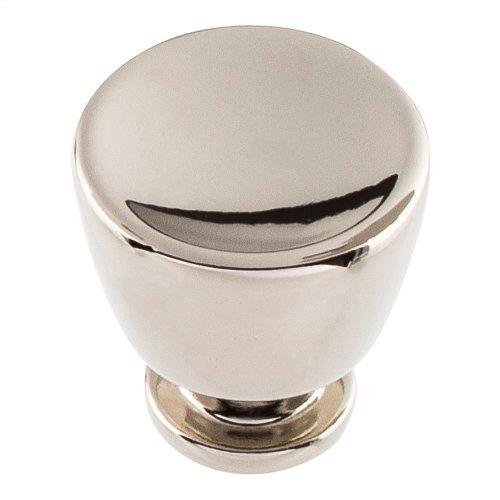 Conga Knob 1 1/8 inch - Polished Nickel