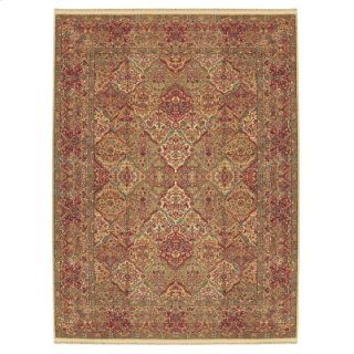 Empress Kirman Multi Rectangle 4ft 3in X 6ft