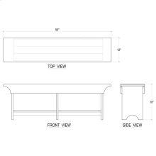 Craftsman's Bench Medium