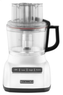 9-Cup Food Processor - White