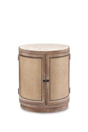 Ventura Round Lamp Table