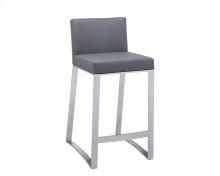 Architect Counter Stool - Grey