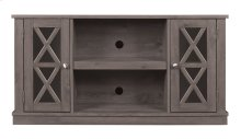 """Update any room with this TV stand for TVs up 55"""" or 45 lbs. Open shelves h..."""