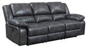 Navaro - Motion Sofa Gray Pu Product Image