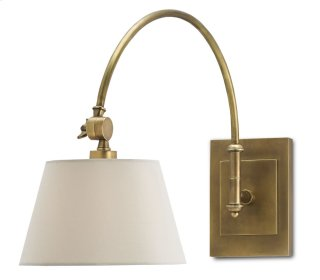 Ashby Swing-Arm Sconce - 10w x 17h x 27d