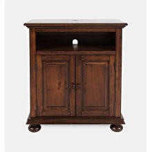 Stately Manor Power Accent Chest - Antique Mahogany