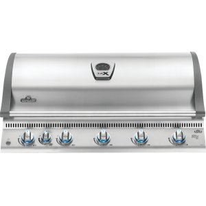 Napoleon GrillsBuilt-in LEX 730 RBI with Infrared Bottom and Rear Burners , Stainless Steel , Natural Gas