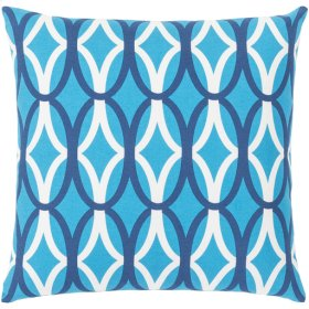"Miranda MRA-013 22"" x 22"" Pillow Shell Only"