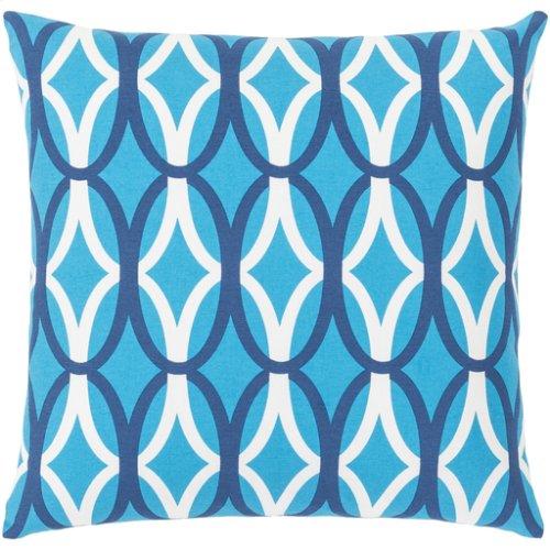 "Miranda MRA-013 18"" x 18"" Pillow Shell with Down Insert"