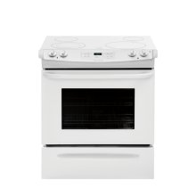 Frigidaire 30'' White Slide-In Electric Range, Scratch & Dent
