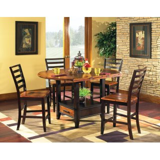 Abaco Drop Leaf Counter Height 5 Piece Set