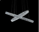 Crossover L E D Chandelier Product Image