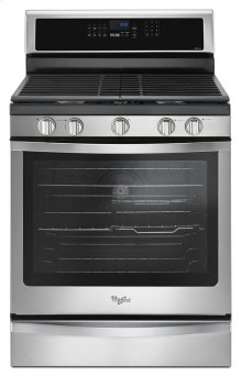 5.8 Cu. Ft. Freestanding Gas Range with EZ-2-Lift Hinged Grates