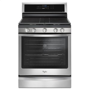 5.8 Cu. Ft. Freestanding Gas Range with EZ-2-Lift Hinged Grates - STAINLESS STEEL