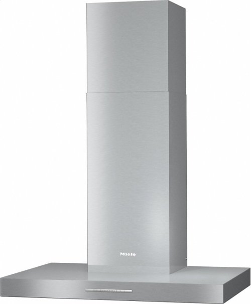 PUR 88 W Wall ventilation hood with energy-efficient LED lighting and backlit controls for easy use.