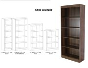 5 Shelf Narrow Bookcase Product Image