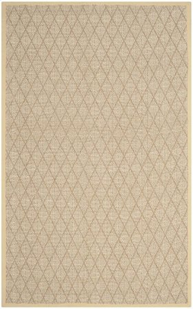 Natural Fiber Hand Woven Medium Rectangle Rug