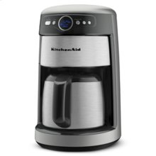 12 Cup Thermal Coffee Maker with Removable Water Tank, 1-4 Cup Brew Cycle, and Pause and Serve Feature