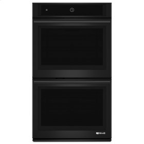 """Black Floating Glass 30"""" Double Wall Oven with MultiMode® Convection System"""