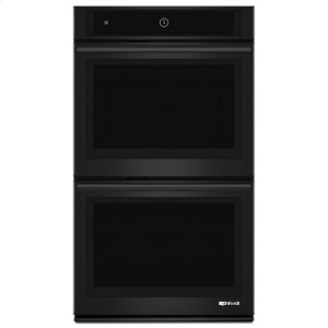 "Black Floating Glass 30"" Double Wall Oven with MultiMode® Convection System"