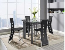 Metro 5PC Pub Table Set