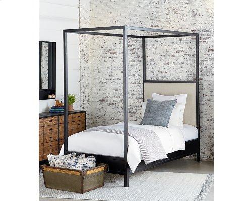 Kettle Framework Upholstered Twin Bed