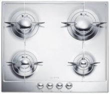"60CM (approx 24 ) ""Piano Design"" Gas Cooktop, Polished Stainless Steel*"