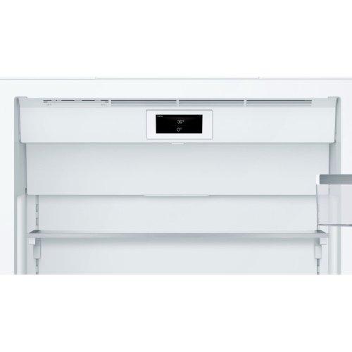 Benchmark® built-in fridge-freezer with freezer at bottom B30BB930SS