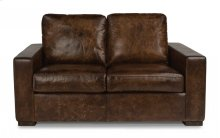 Prescott Leather Loveseat