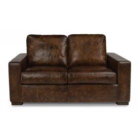 Prescott Leather Loveseat
