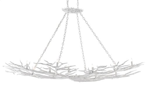 Rainforest White Chandelier