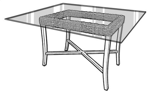 Dining Table, Available in Dark Banana Finish Only.