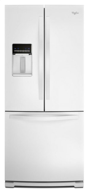 Whirlpool® 19.6 cu. ft. French Door Refrigerator with Exterior Water Dispenser