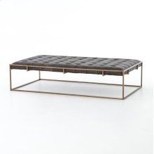 Railto Ebony Cover Oxford Coffee Table