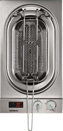 Vario 200 Series Electric Deep Fryer Stainless Steel Control Panel Width 12 ''
