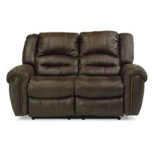 New Town Fabric Power Reclining Loveseat
