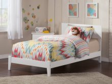 Orlando Twin XL Bed in White