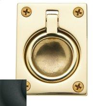 Satin Black Flush Ring Pull