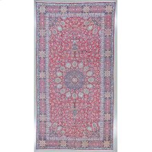 """PERSIAN 000030407 IN RED NAVY 10'-8"""" x 20'-5"""""""
