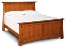 McCoy Panel Bed, Quartersawn White Oak #26 Michael's, McCoy Panel Bed, Queen, Quartersawn White Oak