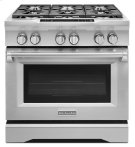 36'' 6-Burner Dual Fuel Freestanding Range, Commercial-Style - Stainless Steel Product Image