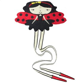 Ladybug Girl 3D Kite.
