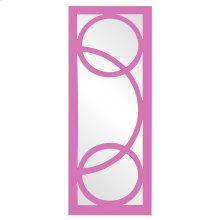 Dynasty Mirror - Glossy Hot Pink