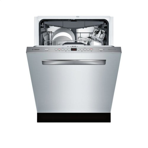 500 Series built-under dishwasher 24'' Stainless steel SHPM65W55N