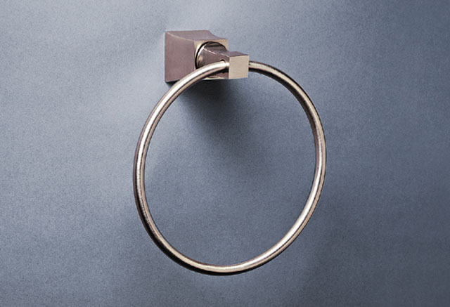 Weathered-Brass-Living Single Robe Hook