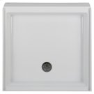 Town Square 36 Inch by 36 Inch Alcove Shower Base - White Product Image